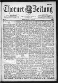 Thorner Zeitung 1901, Nr. 7 Erstes Blatt
