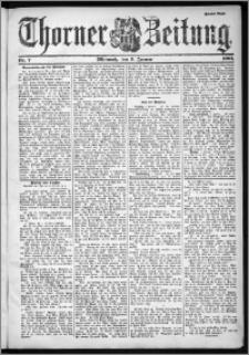 Thorner Zeitung 1901, Nr. 7 Zweites Blatt