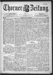 Thorner Zeitung 1901, Nr. 9 Erstes Blatt
