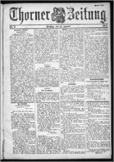 Thorner Zeitung 1901, Nr. 9 Zweites Blatt