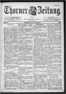 Thorner Zeitung 1901, Nr. 10 Erstes Blatt