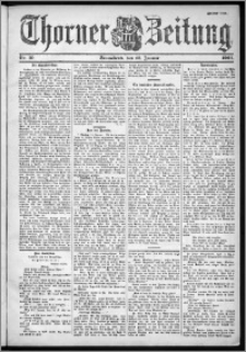 Thorner Zeitung 1901, Nr. 10 Zweites Blatt