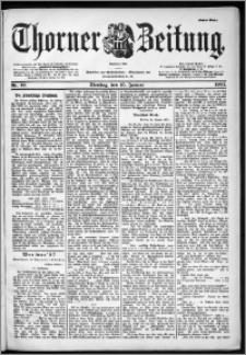 Thorner Zeitung 1901, Nr. 12 Erstes Blatt