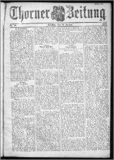 Thorner Zeitung 1901, Nr. 12 Zweites Blatt