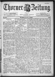 Thorner Zeitung 1901, Nr. 13 Erstes Blatt