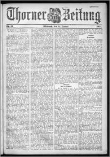 Thorner Zeitung 1901, Nr. 13 Zweites Blatt