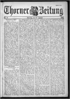 Thorner Zeitung 1901, Nr. 17 Zweites Blatt