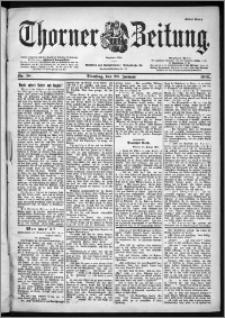 Thorner Zeitung 1901, Nr. 18 Erstes Blatt