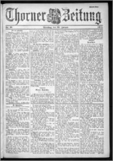 Thorner Zeitung 1901, Nr. 18 Zweites Blatt