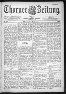 Thorner Zeitung 1901, Nr. 19 Erstes Blatt