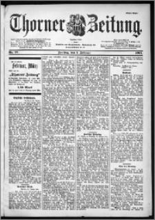 Thorner Zeitung 1901, Nr. 27 Erstes Blatt