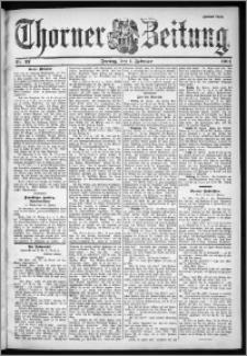 Thorner Zeitung 1901, Nr. 27 Zweites Blatt