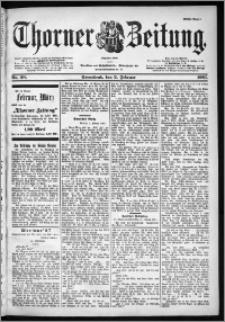 Thorner Zeitung 1901, Nr. 28 Erstes Blatt