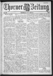 Thorner Zeitung 1901, Nr. 28 Zweites Blatt