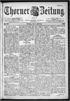 Thorner Zeitung 1901, Nr. 29 Erstes Blatt