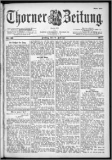 Thorner Zeitung 1901, Nr. 33 Erstes Blatt