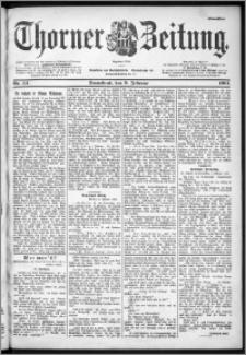 Thorner Zeitung 1901, Nr. 34 Erstes Blatt
