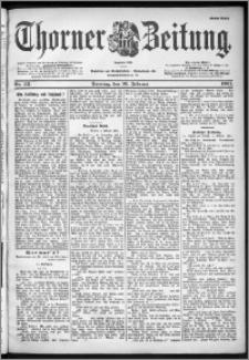 Thorner Zeitung 1901, Nr. 35 Erstes Blatt