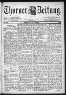 Thorner Zeitung 1901, Nr. 36 Erstes Blatt