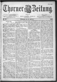 Thorner Zeitung 1901, Nr. 37 Erstes Blatt
