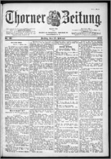 Thorner Zeitung 1901, Nr. 39 Erstes Blatt