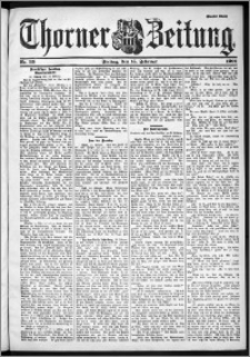 Thorner Zeitung 1901, Nr. 39 Zweites Blatt