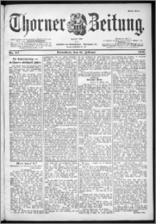 Thorner Zeitung 1901, Nr. 40 Erstes Blatt