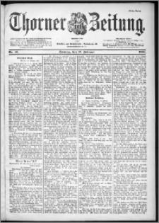 Thorner Zeitung 1901, Nr. 41 Erstes Blatt