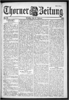 Thorner Zeitung 1901, Nr. 42 Zweites Blatt
