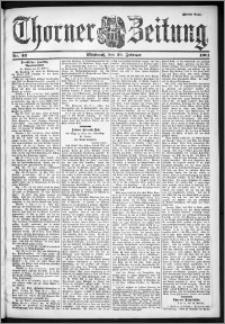 Thorner Zeitung 1901, Nr. 43 Zweites Blatt