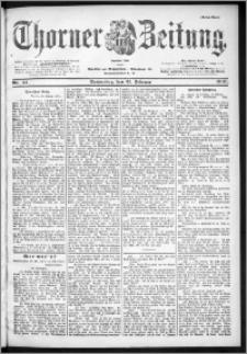 Thorner Zeitung 1901, Nr. 44 Erstes Blatt