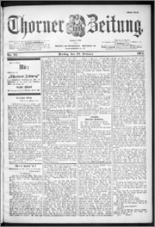Thorner Zeitung 1901, Nr. 45 Erstes Blatt