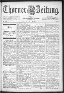 Thorner Zeitung 1901, Nr. 46 Erstes Blatt
