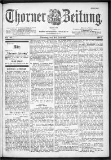 Thorner Zeitung 1901, Nr. 47 Erstes Blatt