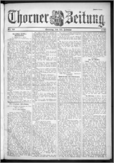 Thorner Zeitung 1901, Nr. 47 Zweites Blatt