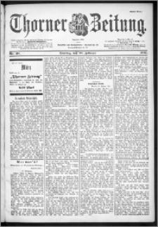 Thorner Zeitung 1901, Nr. 48 Erstes Blatt