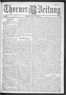 Thorner Zeitung 1901, Nr. 48 Zweites Blatt