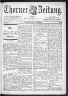 Thorner Zeitung 1901, Nr. 50 Erstes Blatt