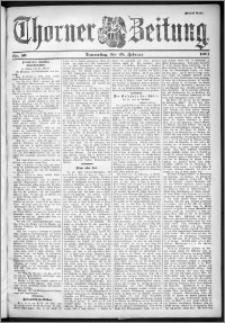 Thorner Zeitung 1901, Nr. 50 Zweites Blatt