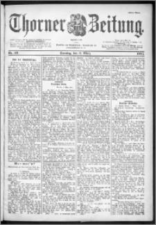Thorner Zeitung 1901, Nr. 53 Erstes Blatt