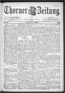Thorner Zeitung 1901, Nr. 54 Erstes Blatt