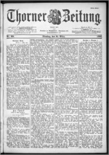 Thorner Zeitung 1901, Nr. 60 Erstes Blatt