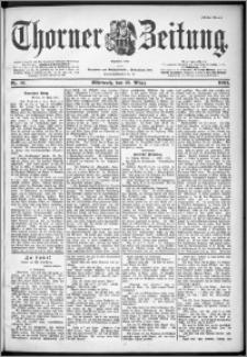 Thorner Zeitung 1901, Nr. 61 Erstes Blatt
