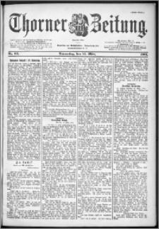 Thorner Zeitung 1901, Nr. 62 Erstes Blatt
