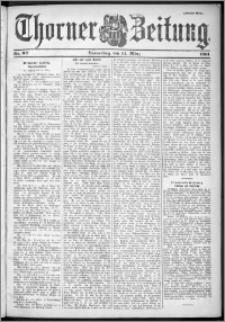 Thorner Zeitung 1901, Nr. 62 Zweites Blatt