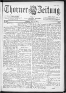 Thorner Zeitung 1901, Nr. 65 Erstes Blatt
