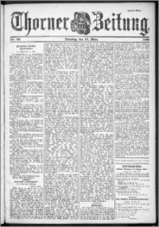 Thorner Zeitung 1901, Nr. 66 Zweites Blatt