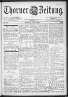 Thorner Zeitung 1901, Nr. 67 Erstes Blatt