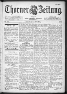 Thorner Zeitung 1901, Nr. 70 Erstes Blatt