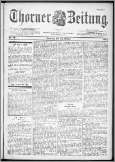 Thorner Zeitung 1901, Nr. 71 Erstes Blatt